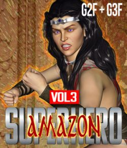SuperHero Amazon for G2F & G3F Volume 3