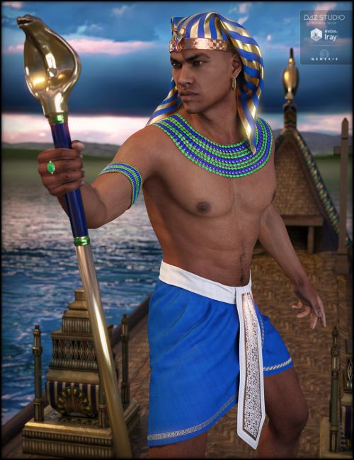 Egyptian Outfit for Genesis 3 Male(s)