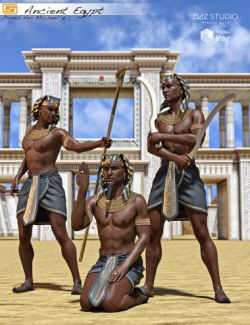 Ancient Egypt - Poses and Props for Michael 7