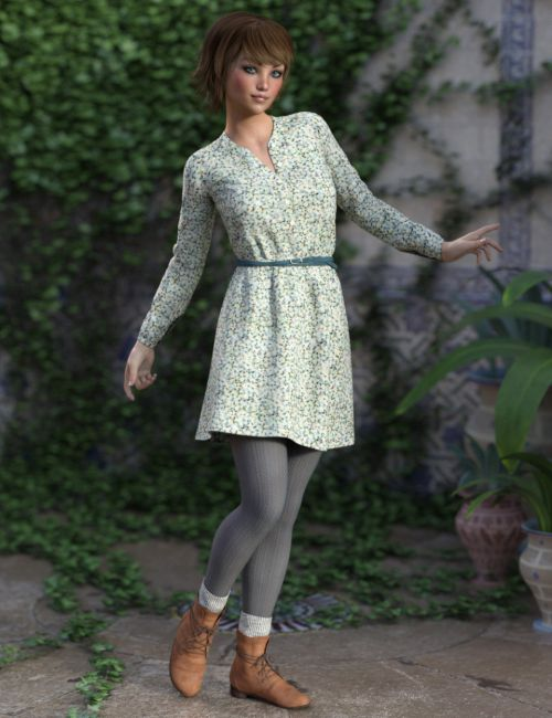 Cool Spring Outfit for Genesis 3 Female(s)