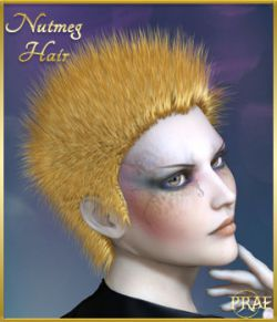 Prae-Nutmeg Hair for Poser