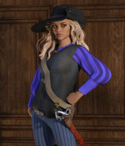 Rogue Outfit for Genesis 3 Female