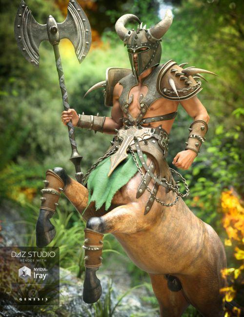 Ravager Centaur Outfit for Centaur 7 Male