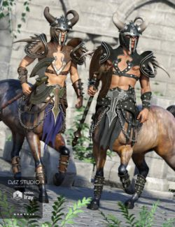Ravager Centaur Outfit Textures