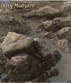 3D Scenery: Dirty Mudyard