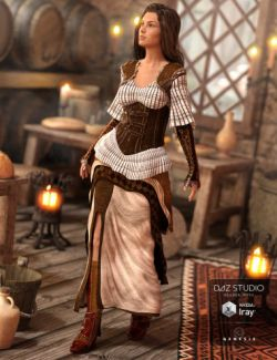 Rivetina Steampunk for Genesis 3 Female(s)