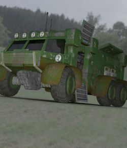 Sci-Fi Truck - Heavy Duty (for DAZ Studio)