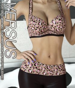 VERSUS- Fads Sports Bra & Yoga Pants for Genesis 3 Female