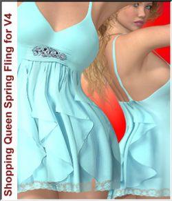 Shopping Queen: for Spring-Fling Dress V4