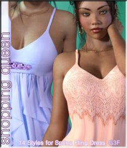 Shopping Queen: for Spring-Fling Dress G3F