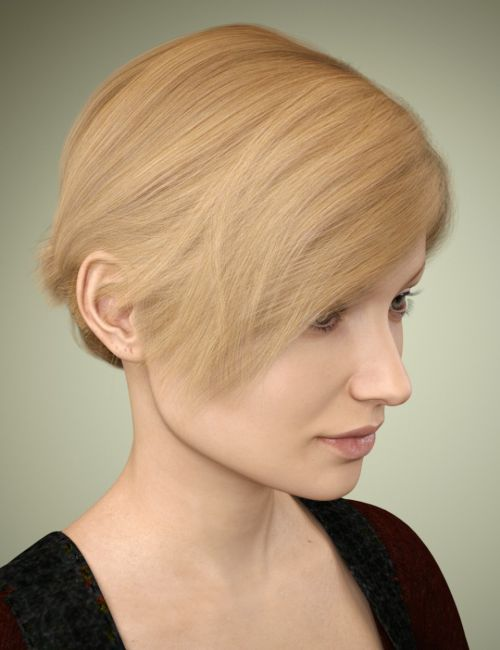 Sylvia Hair for Genesis 3 Female(s)