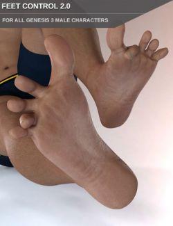 Easy Feet for Genesis 3 Male(s)