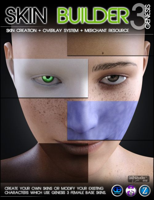 Skin Builder 3 for Genesis 3 Female(s)