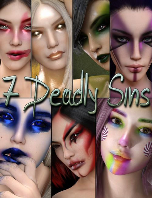 7 Deadly Sins Bundle