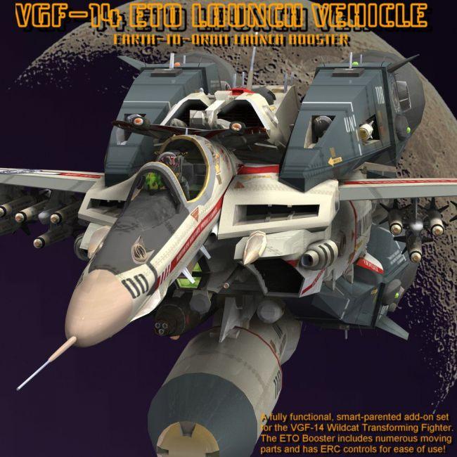 VGF-14 D Wildcat ETO Booster - for Poser