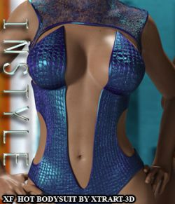 InStyle- X-Fashion Hot Bodysuit for Genesis 3 Females