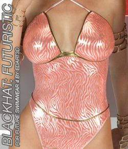 BLACKHAT:FUTURISTIC- Future Swimwear 4 for G3F