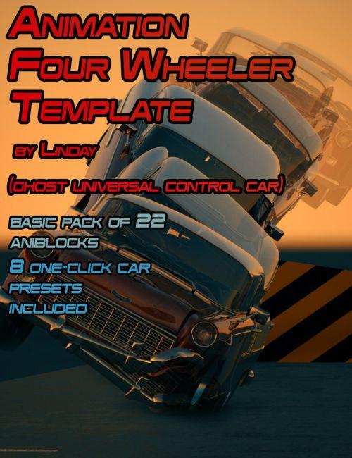 Animation Four Wheeler Template