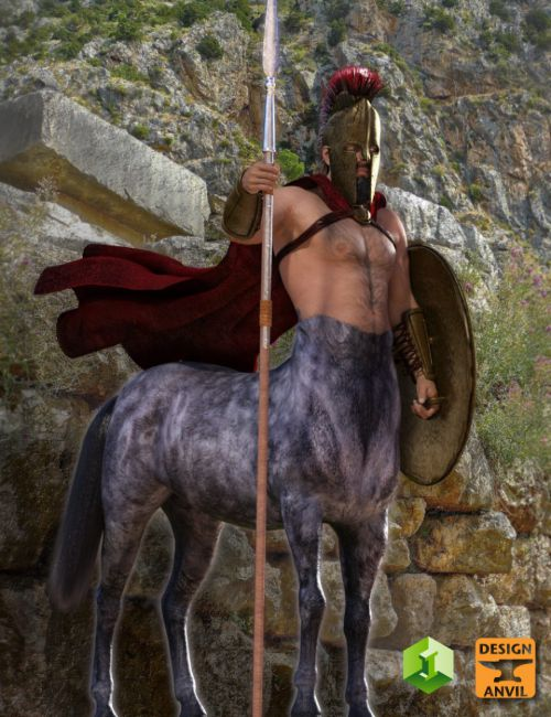 DA Enhanced Iray Material Presets for Centaur 7 Male