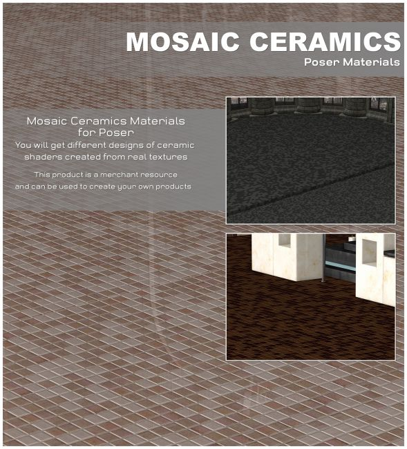 Poser - Mosaic Ceramics