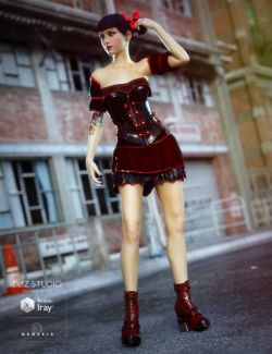 Gothic Punk for Genesis 3 Female(s)