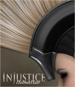 InJustice- HelmetHair