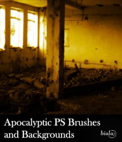 Apocalyptic PS Brushes and Backgrounds
