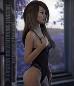 X-Fashion Breathtaking Lingerie for Genesis 3 Females