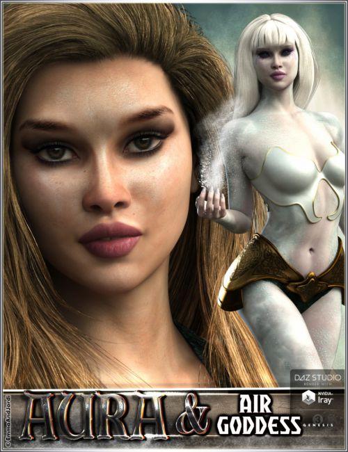 EJ Aura And Air Goddess For Genesis 3 Female