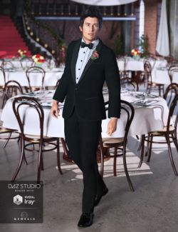 Classic Tuxedo for Genesis 3 Male(s)
