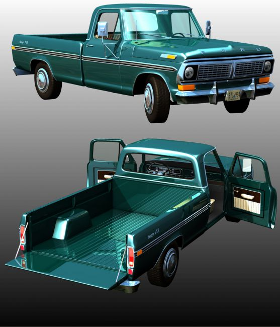 FORD F100 1970 - Extended License