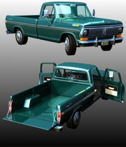 FORD F100 1970- Extended License