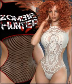 7th Ave: Crochet Monokini for Genesis 3 Female