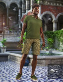 Spring Polo Outfit for Genesis 3 Male(s)