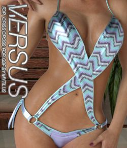 VERSUS- Criss Cross for Genesis 3 Females