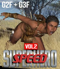 SuperHero Speed for G2F & G3F Volume 2