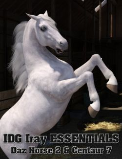 IDG Iray Essentials- Daz Horse 2 and Centaur 7