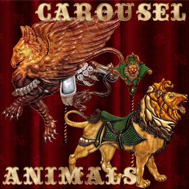 Harvest Moons Carousel Animals