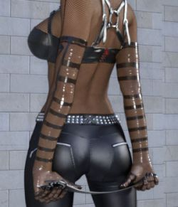 Wetlook Outfit 2 for Genesis 3 Females