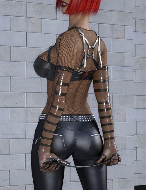 Wetlook Outfit 2 for Genesis 3 Females