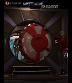 Sci-Fi Airlock (for DAZ Studio)