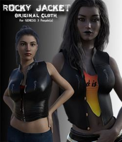 Rocky Jacket for Genesis 3 Females