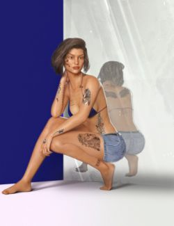 Tattoo 2 for Genesis 3 Female