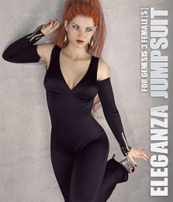 Eleganza Jumpsuit for Genesis 3 Females