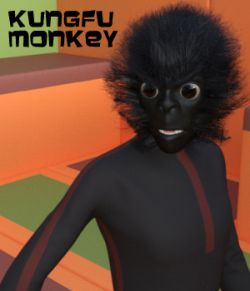 KungFu Monkey for Genesis 3 Male