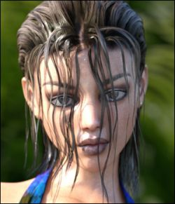 Actual Wet Hair Genesis 3 Female