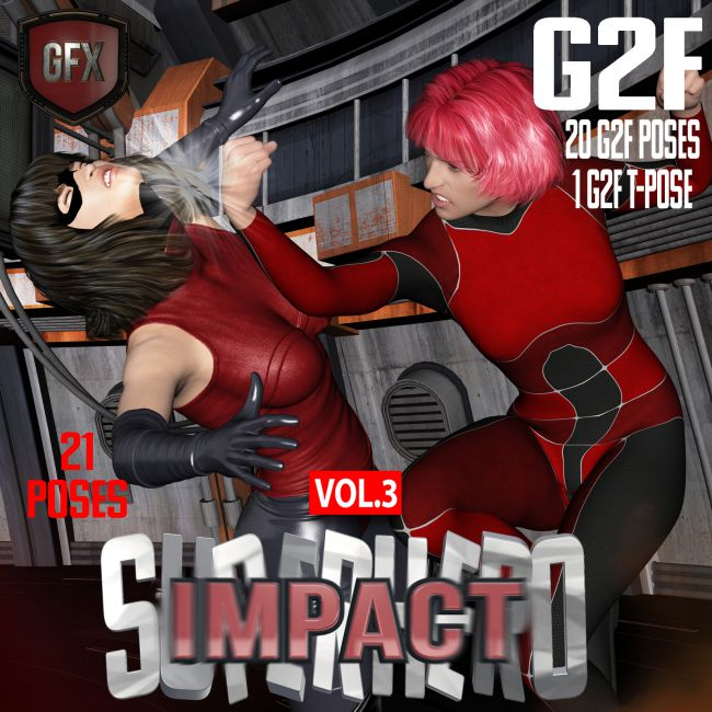 SuperHero Impact for G2F Volume 3