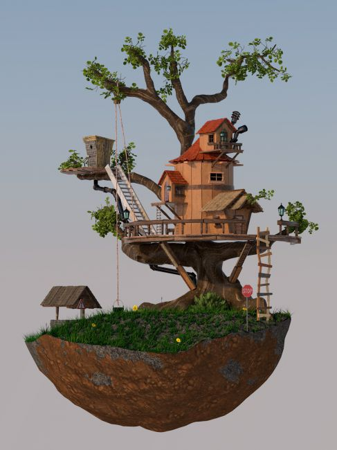GNBD TREE HOUSE FOR VUE