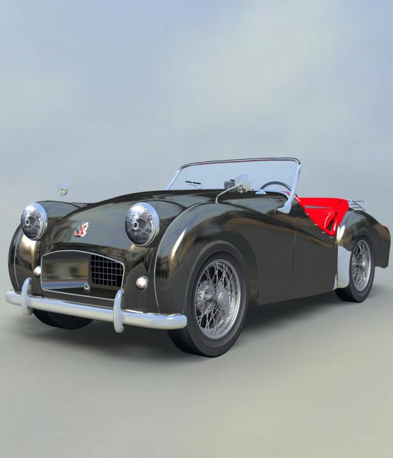 TRIUMPH TR2-EXTENDED LICENSE