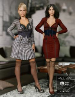 Manic Monday Outfit Textures